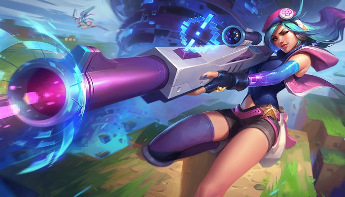 khắc chế Caitlyn
